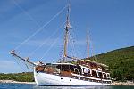 Kreuzfahrt mit der Albatros ab Rijeka  -  Kroatien  Der Motorsegler Albatros: