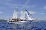 Kreuzfahrten mit der Macek ab Hafen Rijeka  -  Kroatien  Der Motorsegler: