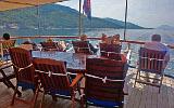 Kreuzfahrten mit der Kapetan Kuka ab Hafen Rijeka  -  Kroatien  Route R1: 1-wöchige Kreuzfahrt