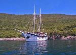 Kreuzfahrten mit der Kapetan Kuka ab Hafen Rijeka  -  Kroatien  Route R7: 1-wöchige Kapitänstour