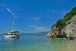 Kreuzfahrten mit der Kapetan Kuka ab Hafen Rijeka  -  Kroatien  Route RB: 1-wöchige Fahrrad-Kreuzfahrt