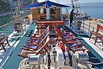 Kreuzfahrten mit der Otac Ivan ab Hafen Trogir  -  Kroatien  Route TC: 1-wöchige Wander-Fahrrad-Kreuzfahrt
