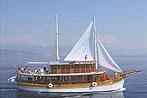 Kreuzfahrten mit der Planka ab Hafen Rijeka  -  Kroatien  Der Motorsegler: MS Planka