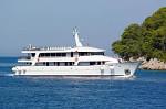 Adriatic Pearl Deluxe-Kreuzfahrt   -  Kroatien  Die Yacht - Adriatic Pearl: