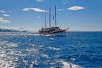 Kreuzfahrten mit der Sveti Vid ab Hafen Rijeka  -  Kroatien  Der Motorsegler Sveti Vid: