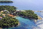 Hotel Carolina - Ferienanlage Suha Punta  - Rab / Insel Rab Kroatien (Kvarner Bucht) Lage: