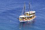 Kreuzfahrten mit der MS Ribic ab Hafen Trogir  -  Kroatien  Route T3: 1-wöchige Kreuzfahrt