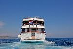 Kreuzfahrten mit der Mystic ab Hafen Trogir  -  Kroatien  Route T1: 1-wöchige Kreuzfahrt